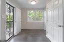 Utility room from Kitchen - 5362 HAYES ST NE, WASHINGTON