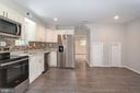 Kitchen from Utility room - 5362 HAYES ST NE, WASHINGTON