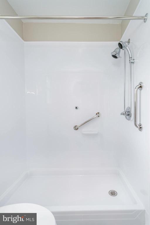 Shower in Upstairs Bathroom - 5362 HAYES ST NE, WASHINGTON
