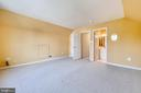 Bedroom suite with private staircase and full bath - 206 WATKINS CIR, ROCKVILLE