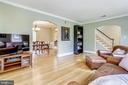 Roomy enough for a baby grand and big screen - 4924 BUTTERWORTH PL NW, WASHINGTON
