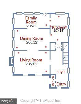 Main floor - 4924 BUTTERWORTH PL NW, WASHINGTON