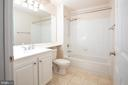Guest Bathroom with Double Access Door - 11710 OLD GEORGETOWN ROAD #1521, NORTH BETHESDA