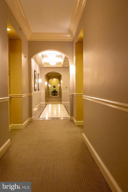 Public Corridor at 15th Floor - 11710 OLD GEORGETOWN ROAD #1521, NORTH BETHESDA