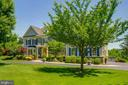 Stone and handiplank exterior - 17072 SILVER CHARM PL, LEESBURG