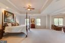 Elegant Master bedroom suite - 17072 SILVER CHARM PL, LEESBURG