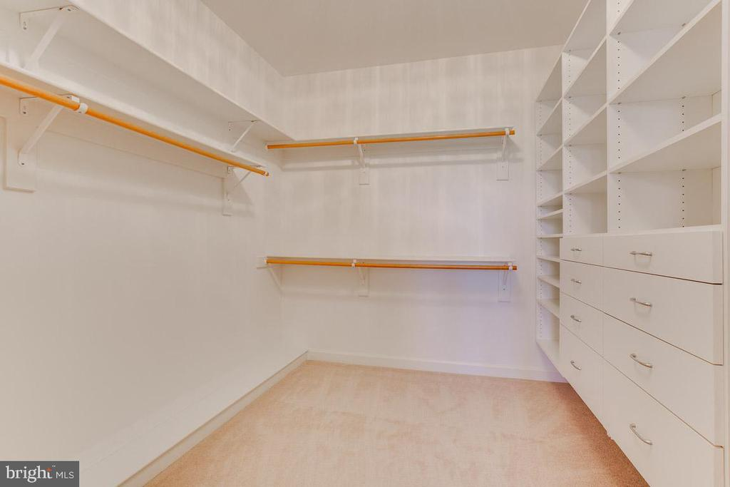 Separate closets - 17072 SILVER CHARM PL, LEESBURG