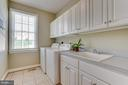 Main level laundry room - 17072 SILVER CHARM PL, LEESBURG