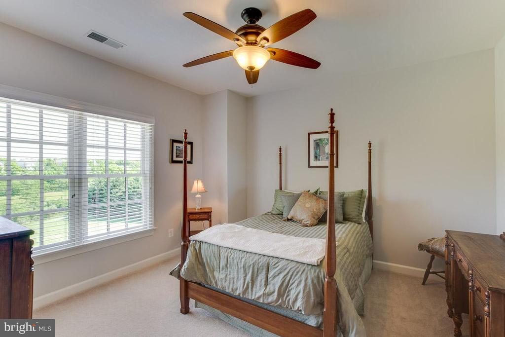 Beautiful backyard views from this bedroom - 17072 SILVER CHARM PL, LEESBURG