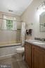 One of two bathrooms on the main level - 1218 WASHINGTON DR, ANNAPOLIS
