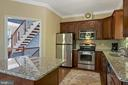 Great flow between the living room and kitchen - 1218 WASHINGTON DR, ANNAPOLIS