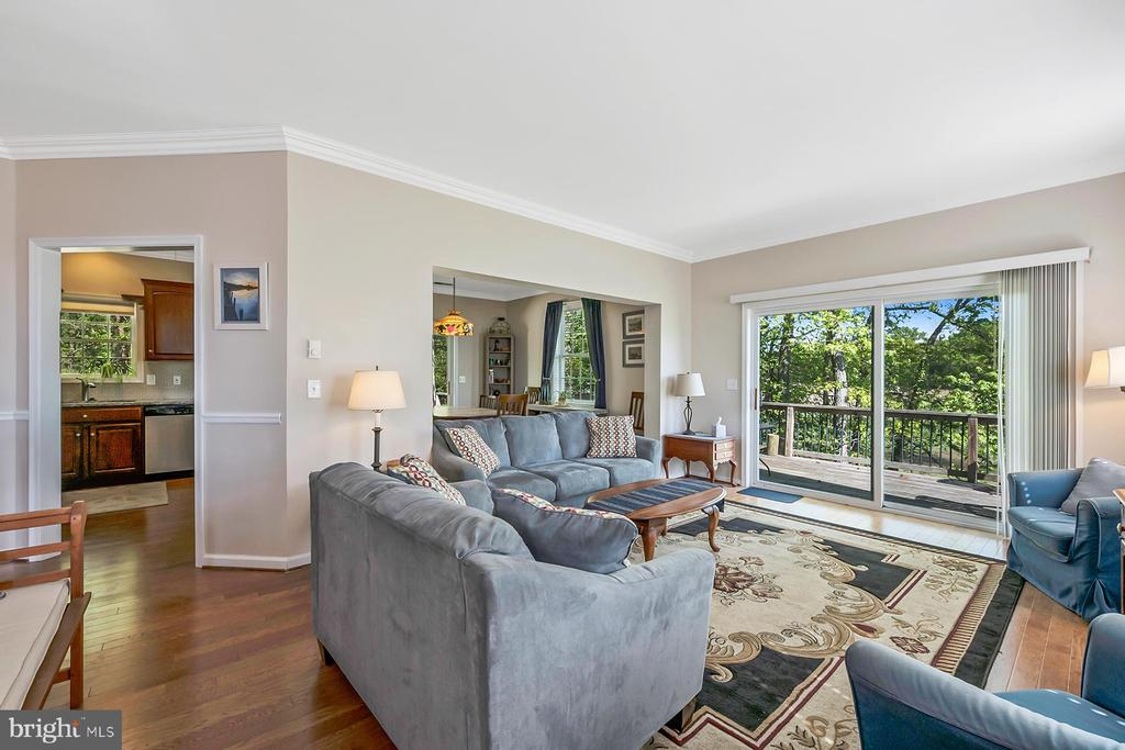 Water views and hardwood floors - 1218 WASHINGTON DR, ANNAPOLIS
