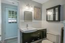 Full bathroom on the walk-out lower level - 1218 WASHINGTON DR, ANNAPOLIS