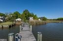 View of the home from the private pier - 1218 WASHINGTON DR, ANNAPOLIS