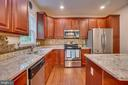 Upgraded Countertops & Backsplash - 31 WALKER WAY, STAFFORD