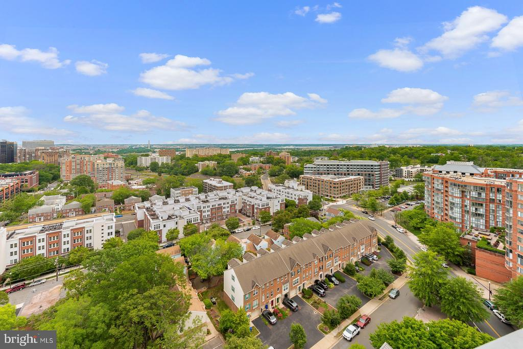 Panoramic view from rooftop - 2001 15TH ST N #812, ARLINGTON