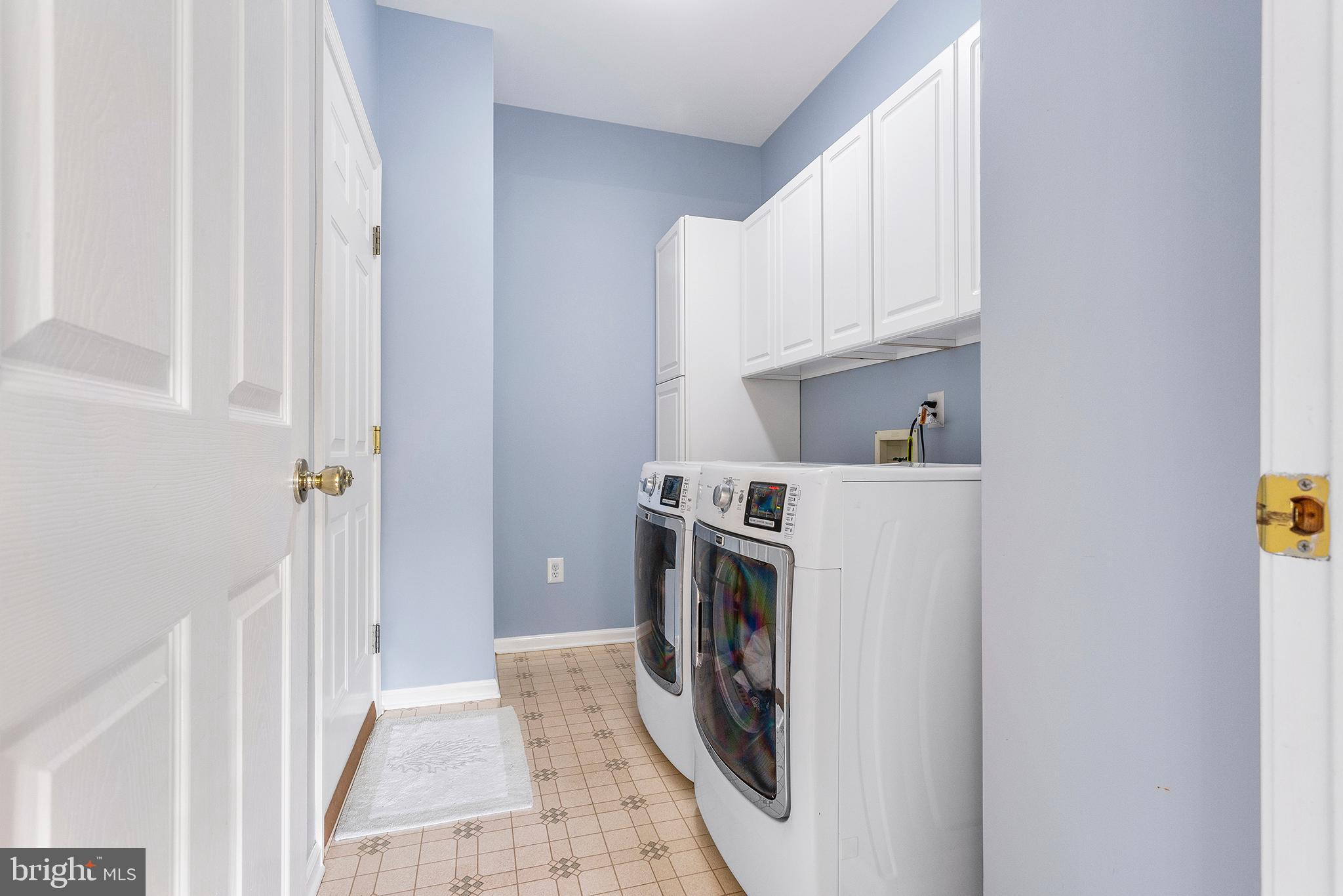 Main Floor Laundry with access to garage