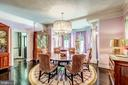 Formal dining room with large bay window - 38025 JOHN MOSBY HWY, MIDDLEBURG