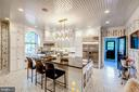 Chefs Kitchen with island. - 38025 JOHN MOSBY HWY, MIDDLEBURG