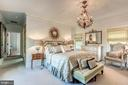 One of two master bedrooms - 38025 JOHN MOSBY HWY, MIDDLEBURG