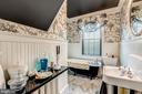Bathroom with soaking claw foot tub - 38025 JOHN MOSBY HWY, MIDDLEBURG