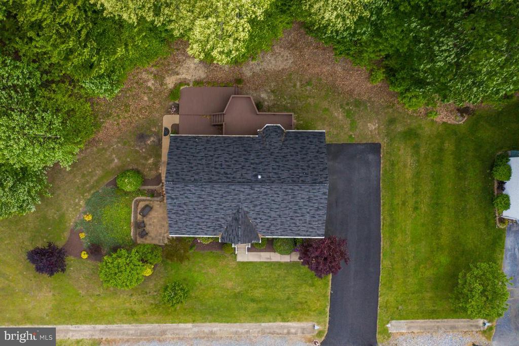 Overhead view - 9508 TIMBERLAKE RD, FREDERICKSBURG