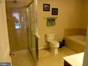 Large Master Bathroom - 15839 JOHN DISKIN CIR #72, WOODBRIDGE