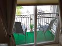 Balcony from Bedroom 3 - 15839 JOHN DISKIN CIR #72, WOODBRIDGE