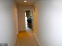 Wide hallway on 2nd level - 15839 JOHN DISKIN CIR #72, WOODBRIDGE