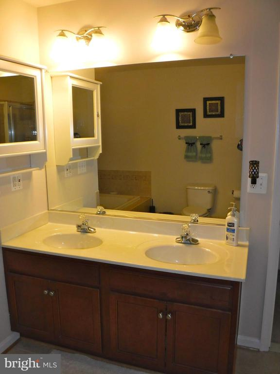 Master Bath double sinks - 15839 JOHN DISKIN CIR #72, WOODBRIDGE