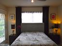 Bedroom 2 with balcony access - 15839 JOHN DISKIN CIR #72, WOODBRIDGE