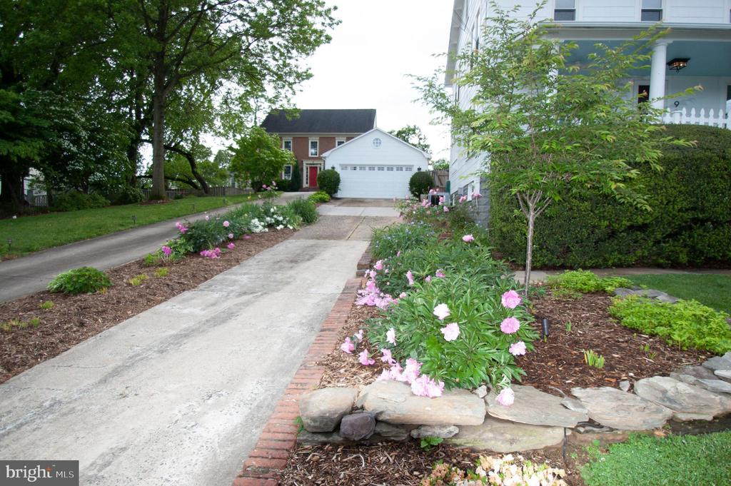 Stunning landscaping & details throughout the lot - 900 N FREDERICK ST, ARLINGTON