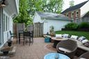 Convenient patio off back mudroom - 900 N FREDERICK ST, ARLINGTON