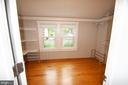 Massive walk in closet off master with built in st - 900 N FREDERICK ST, ARLINGTON