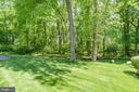 Backyard - 6409 KENNEDY DR, CHEVY CHASE