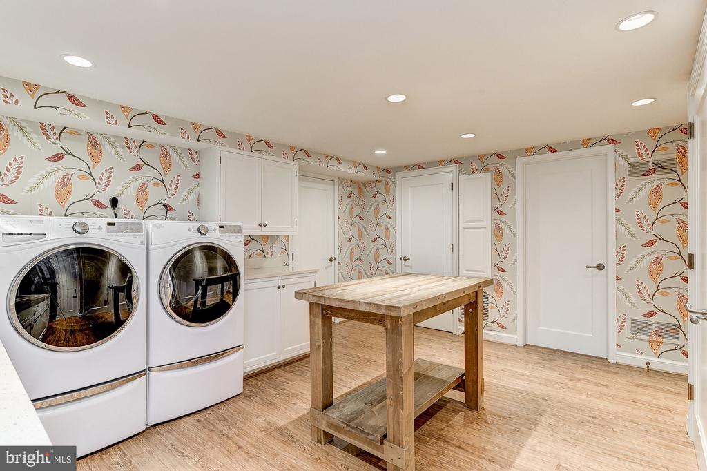 Laundry Room - 6409 KENNEDY DR, CHEVY CHASE