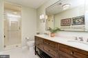 Lower Level Full Bathroom - 6409 KENNEDY DR, CHEVY CHASE
