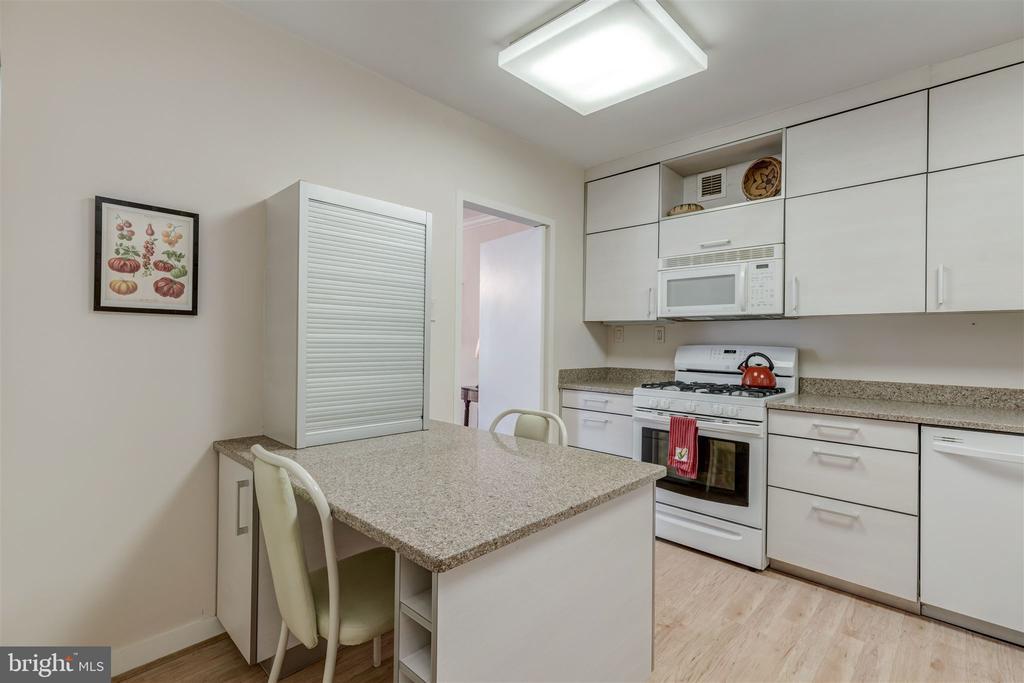 Remodeled Kitchen - 4100 CATHEDRAL AVE NW #810, WASHINGTON