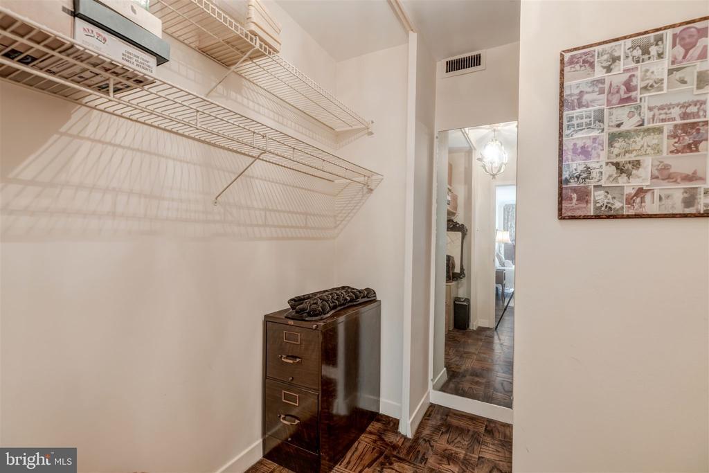 Master Walk-In Closet~ - 4100 CATHEDRAL AVE NW #810, WASHINGTON
