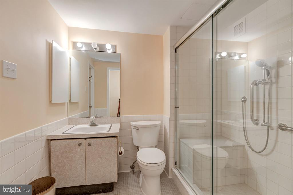 Master Bathroom with Large Shower - 4100 CATHEDRAL AVE NW #810, WASHINGTON
