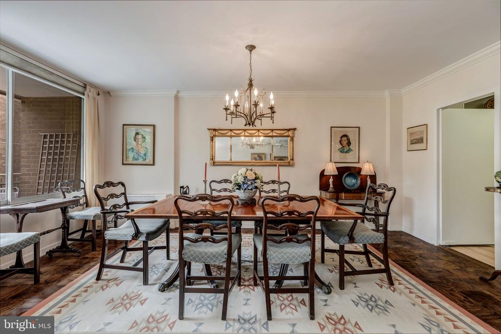 Formal Dining Room - 4100 CATHEDRAL AVE NW #810, WASHINGTON