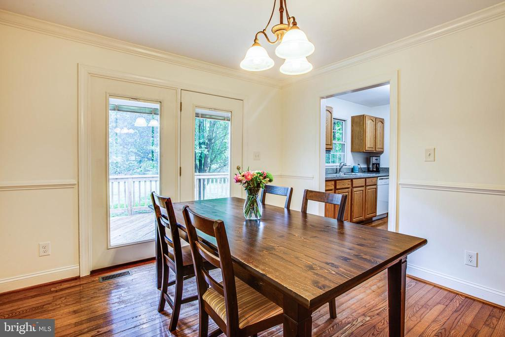 Dining Room - 241 MARDAY DR, RUTHER GLEN