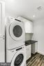 Stacked full sized Washer/ Dryer on upper floor - 2705 WOODLEY RD NW, WASHINGTON