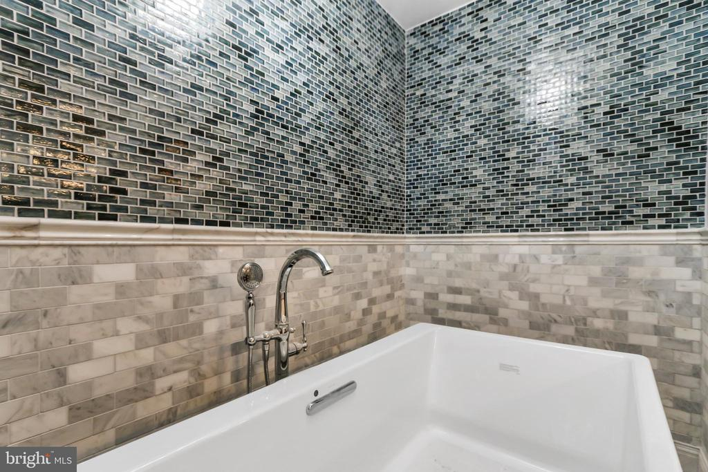 Relax in ample-sized tub and ambient lighting - 2705 WOODLEY RD NW, WASHINGTON