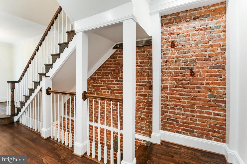 Beautifully framed and presented staircases - 2705 WOODLEY RD NW, WASHINGTON