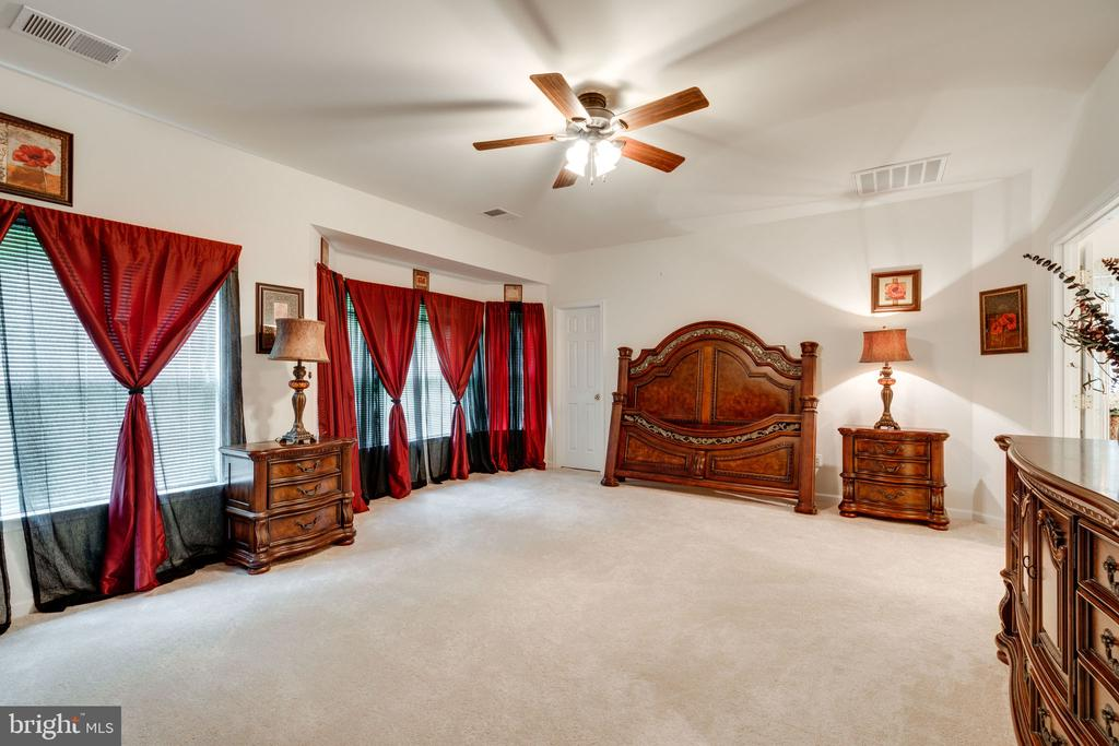MASSIVE master bedroom with tons of windows! - 15672 ALTOMARE TRACE WAY, WOODBRIDGE
