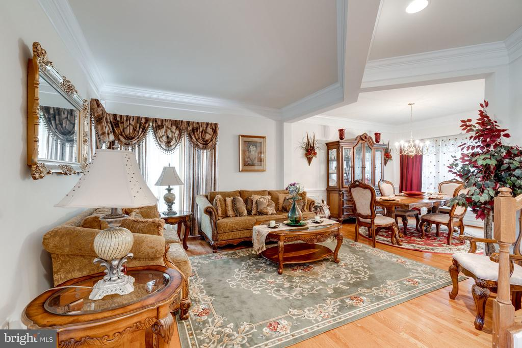 Lovely formal spaces with architectural flair - 15672 ALTOMARE TRACE WAY, WOODBRIDGE
