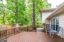 Outdoor living - 4702 DECLARATION CT, ANNANDALE