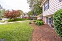 Lovely plantings - 4702 DECLARATION CT, ANNANDALE