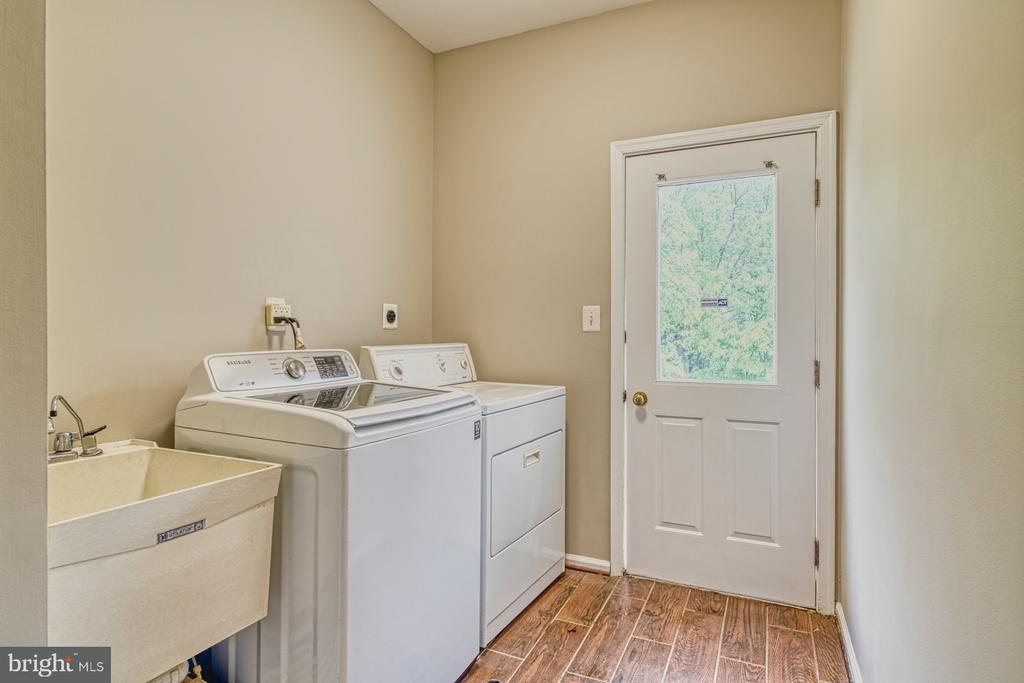 Laundry Room with door to outside - 1321 GATESMEADOW WAY, RESTON